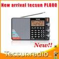 Tecsun PL880 FM profissional rádio FM MP3 receptor frete grátis