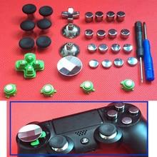 3Sets 31pcs Enhanced Swap Metal Magnetic Thumbstick Joystick Thumb Stick Grip Cap For Sony PS4 Playstation 4 Controller Gamepad