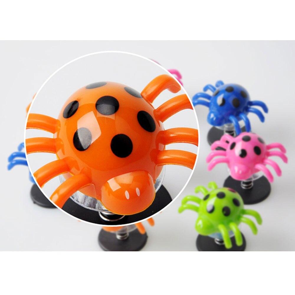 Красочные Веселые прыжки паук 2 шт. антистресс Игрушки Насекомые реквизит вечерние реквизит