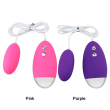 Vibrating Egg 20 Speed Powerful Remote Control Vibrator Bullet Silicone Massage Ball Clitori Stimulator Erotic Sex Toy for Women