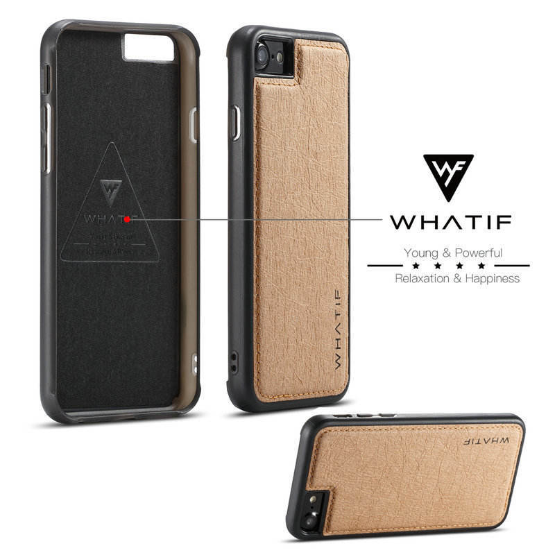 WHATIF For iPhone 7 Waterproof Soft TPU Cover For IPhone 8 ...