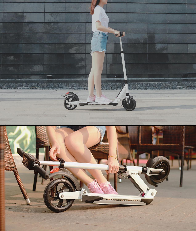 IScooter trottinette electrique Smart E planche a roulettes Mini pliable Hoverboard Patinete Electrico adulte 30 km batterie