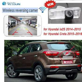 2019 The new Car Rear View Back Up Reverse Parking Camera for Hyundai ix25 2014~2015 for Hyundai Creta 2015~2016 Waterproof CCD