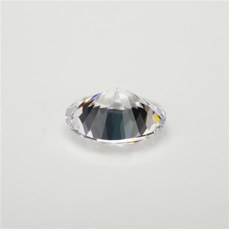 Cubic Zirconia Oval White (1)