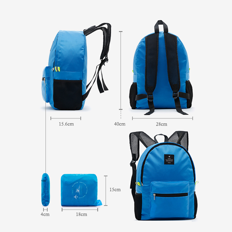 Iux Foldable Travel Bags Waterproof Women Men Unisex Leisure Bagsrucksack Travel Backpacks Men And Women Bag School Backpacks #6