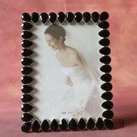 7 inch kropla wody diament metalowa ramka na zdjęcia ślubne ramki do zdjęć dekoracje domu ozdoby prezent urodzinowy prezent foto ramki