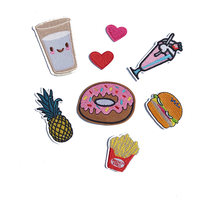 New Products-Fine Cloth And French Fries, Pineapple Burger, Patched Shoes, Hats And Accessories.(China)
