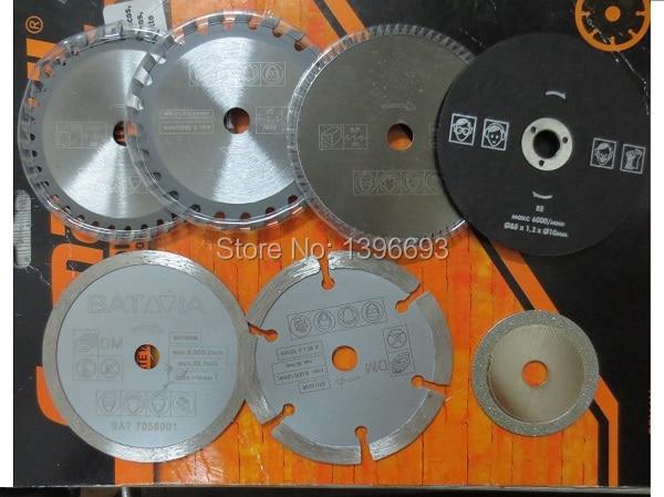 7db / készlet XXL SPEED fűrészlap vágó pengék mini - Elektromos szerszám kiegészítők - Fénykép 3