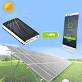 New 15000mah High Capacity Universal Solar Power Bank  Portable Solar Charger Solar Battery for All Mobile Phones