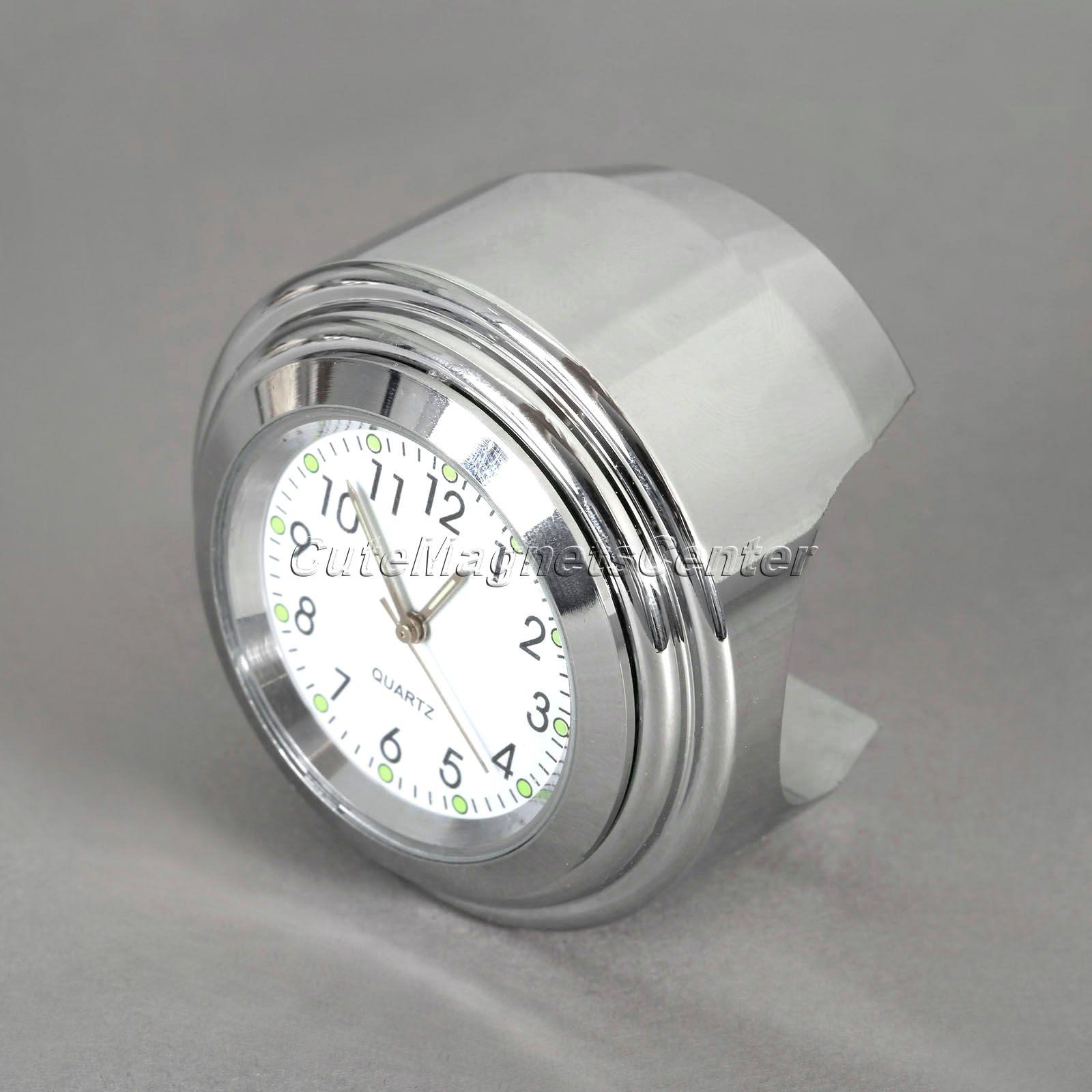 7/8 1 дюймов Водонепроницаемый Двигатель цикл Руль управления для мотоциклов Крепление Циферблат часы Универсальный для Harley Honda KTM термомет...