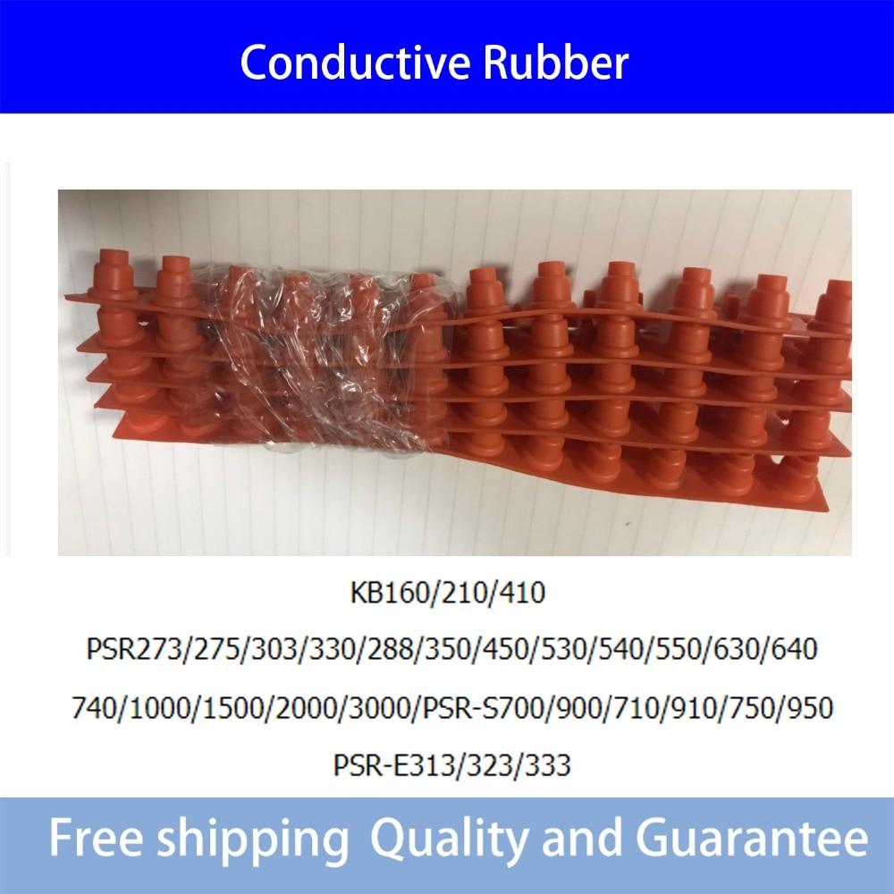 5PCS/Lot Conductive Rubber Contact Pad Button D-Pad For Yamaha PSR-S700/900/710/910/750/950  PSR-E313/323/333 740/1000/1500/2000