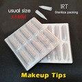 1RL *100pcs Needles Caps Sterilization Blister Packaging Permanent Makeup Needles Tips