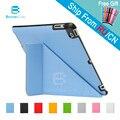 4 formas para apple ipad 4 3 2 caso de cuero de la pu Smart Cover Smartcover para iPad2 iPad3 iPad4 con Lápiz óptico como regalo