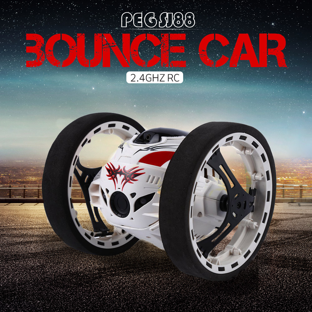 2016 New Surprise 2 4G Fast Running Super Cool RC Car Jumping Sumo Robot Car Bounce