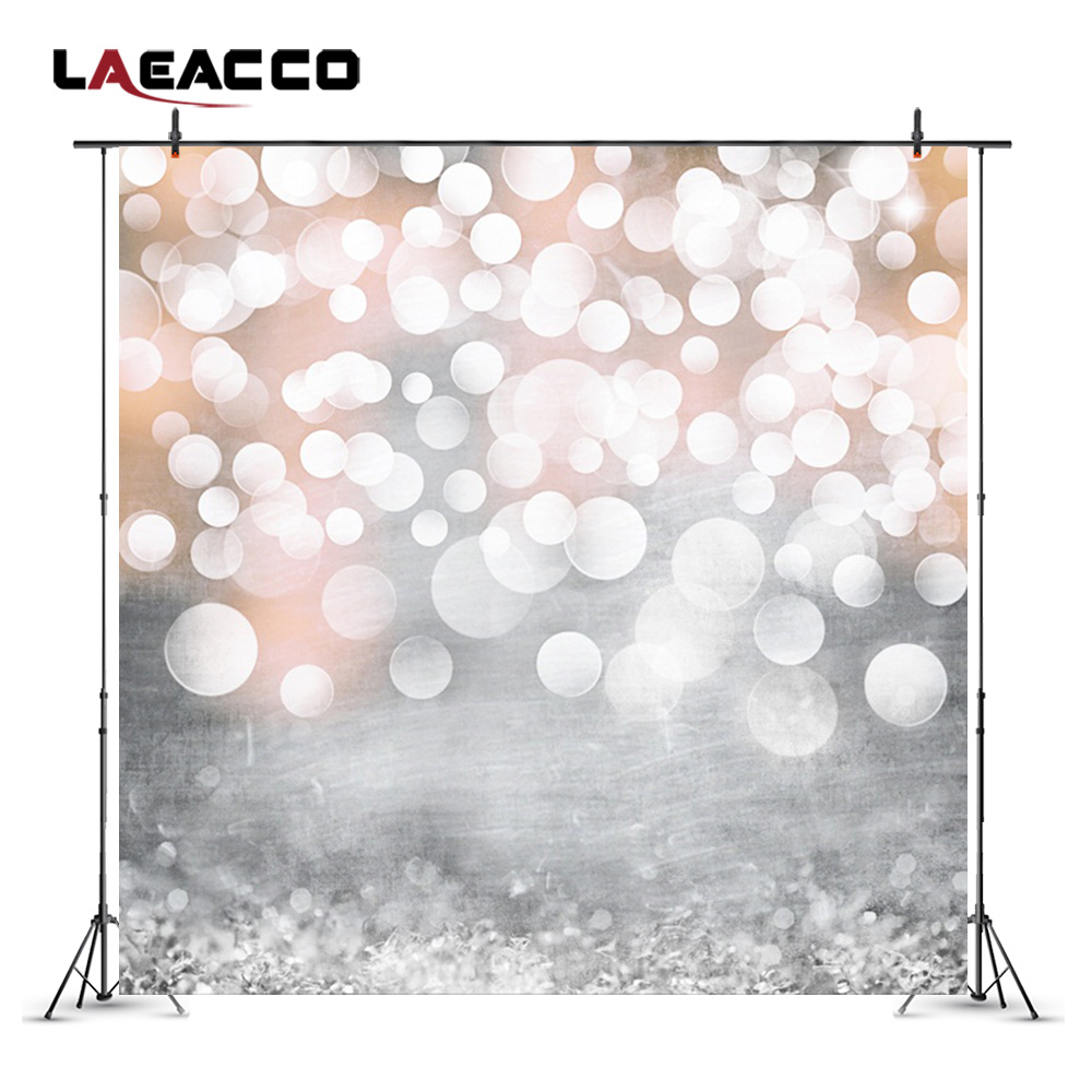 Laeacco Light Shadow Bokeh Portrait Baby Newborn Photography Backgrounds Customized Photographic Backdrops For Photo Studio 2x3m horizontal photography backdrops hot sale art fabric photo studio backgrounds for newborn wedding portrait family xt 4361