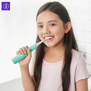 Image 3 - SOOCAS سونيك فرشاة أسنان كهربائية للأطفال IPX7 مقاوم للماء الأطفال فرشاة الأسنان فرشاة الأسنان الكهربائية القابلة لإعادة الشحن 2 وضع التنظيف