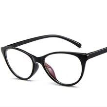2019 Spectacle Frame Cat Eye Glasses Frame Clear Lens Women Brand Eyewear Optical Frames Myopia Nerd Black Red Eyeglasses Frame цены