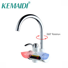 Water Hot Faucets Chrome/