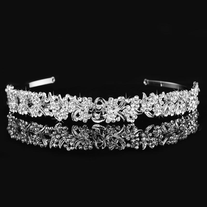 forma de la flor de hairband horquillas retro accesorios para el cabello nia barrettes ornamento mujeres del banquete de boda n