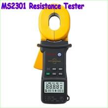 1 шт. MS2301 Заземления Сопротивление Клещи Тестер С 3 3/4-Разрядный ЖК-Дисплей