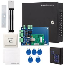 OBO HANDS Full Complete TCP IP Network Access Control Panel Set With AC110V Power Supply 600Lbs 280Kg Force Magnetic Lock