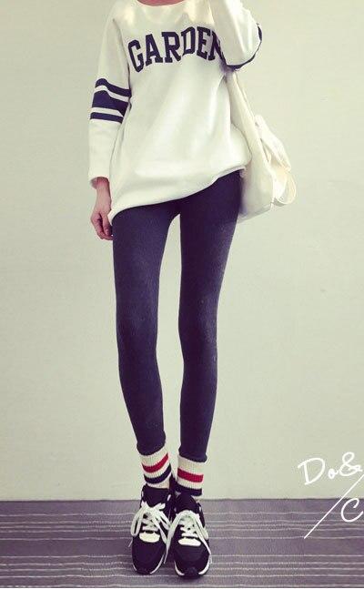 Pantalon Calzas Mujer; повседневные леггинсы на весну-осень; узкие брюки; тонкие обтягивающие штаны; хлопковые черные леггинсы для женщин