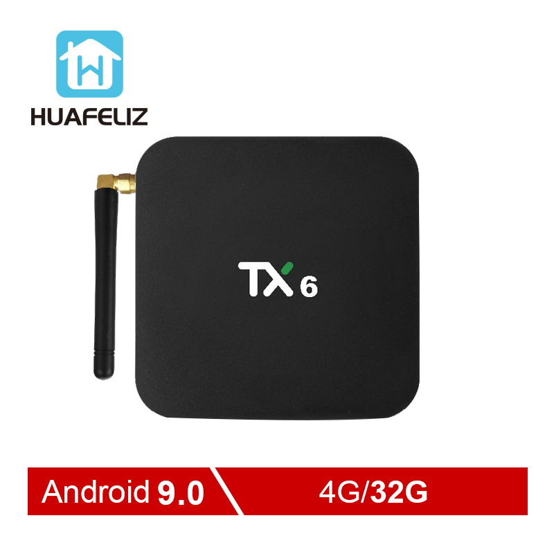 TX6 Smart Android 9 0 TV BOX 4G 32G Allwinner H6 Quad core 2 4G 5G