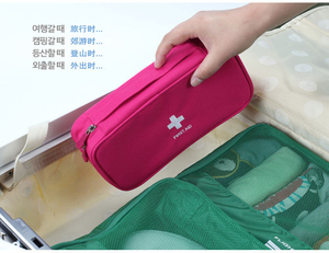 Image 4 - Red First Aid Kit Nylon Emergency Medical First aid kit bag Nylon Waterproof Portable Car kits bag Outdoor Travel Survival kit