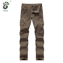 Brand Men's Cargo Pants Casual Multi Pocket Military Pants Overall Men High Quality Army Pants Long Trousers Men 30-44 Plus measurement