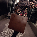MLITDIS Women Leather Handbags 2017 Minimalist Bag Luxury Handbags Women Bags Designer Brown Bag Bolsa De Ombro Marrom Tote Bag