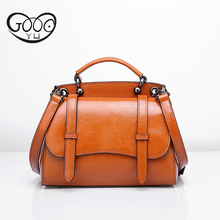100% Genuine Leather Messenger Bags For Women Bag Fashion Crossbody Ladies Luxury Design Shoulder