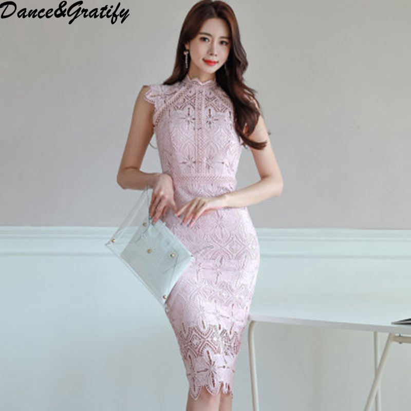 Quality Devoted Twitwinstyle Embroidery Patchwork Women Dress V Neck Short Sleeve Ruffles High Waist Knee Length Dresses Female Fashion Spring Superior In