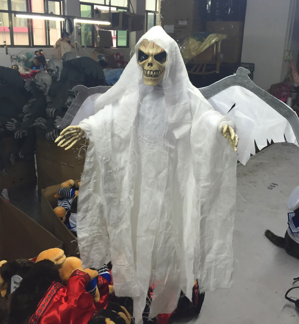 aliexpresscom buy high end halloween decorations ghost bat scary toys induction funny gifts prank electric high end halloween decorations from reliable - High End Halloween Decorations
