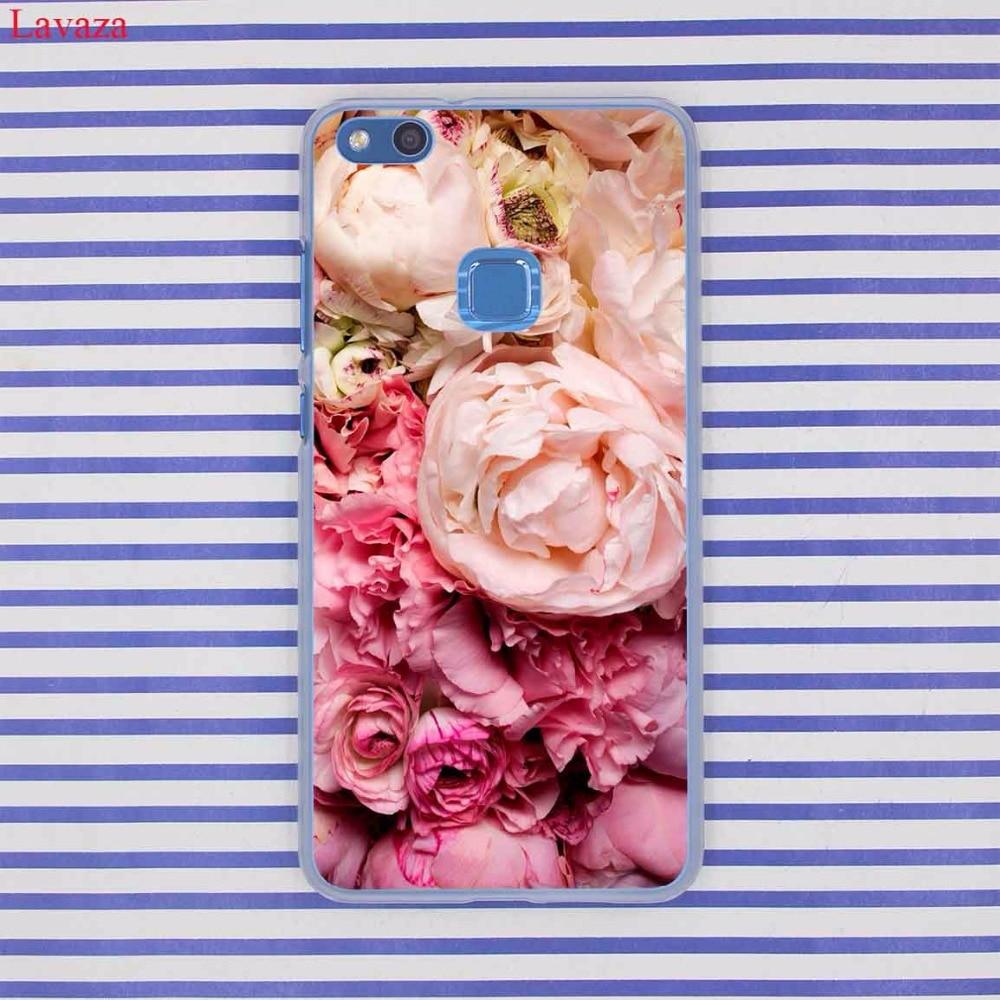 Lavaza довольно пион Дейзи Подсолнечник розы растений цветок чехол для телефона для huawei P20 P9 P10 плюс P8 Lite 2017 2016 P Smart P20 Pro