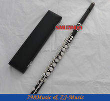 ALTO Flute-Silver Plated-African Blackwood Grenadilla-G Key