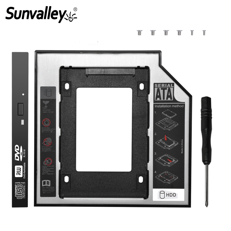 Sunvalley Universal 9.5mm 2nd HDD Caddy 2.5