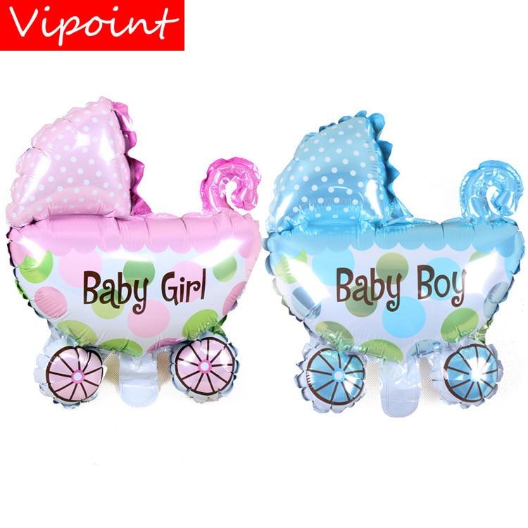 FESTA VIPOINT 29x37 cm meninos meninas carro do bebê balões foil casamento evento festival da festa de aniversário do dia das bruxas natal HY-216