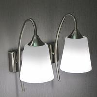 Prosty i stylowy i nowoczesny korytarz dwie lampy lampki nocne nawy kinkiet lustro przednie światła lampy sypialni den wysyłka FG705
