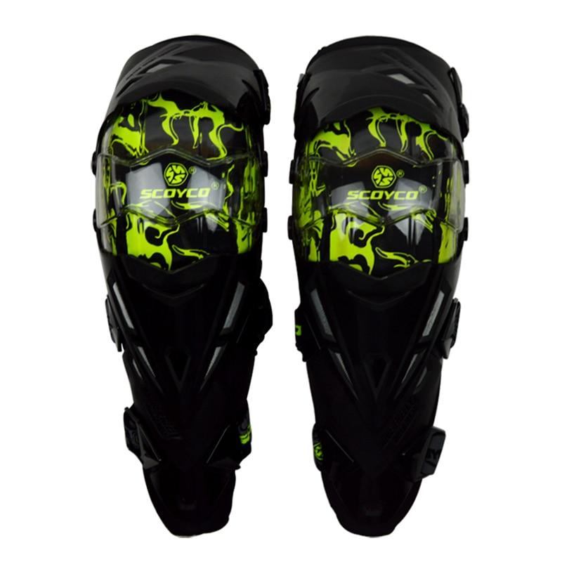 Scoyco K12 Motorcycle Knee pad Protector&Motocross CE Approval Racing Knee Guards MX Knee Pads