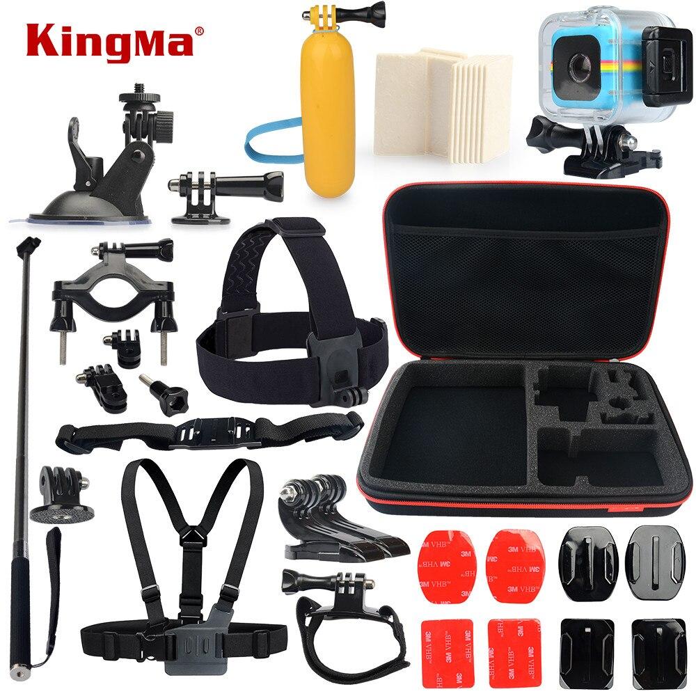 Kingma para Polaroid Cube funda impermeable 13 en 1 Accesorios kit para  Polaroid Cube y Cube + Accesorios conjunto en Sports Camcorder Cases de  Electrónica ... 312a3f1b8c