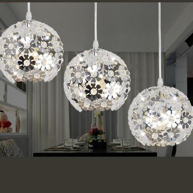 Modern Pendant Lamp Diameter Indoor Lighting 18cm Led Ceiling Aluminum The Restaurant Dining Room Bar Shops Light Fixture