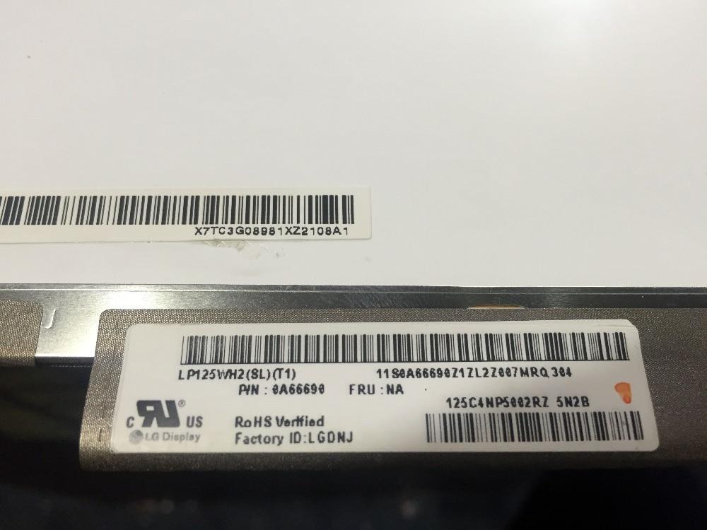 LP125WH2 SLT1 LP125WH2 SLT1 LP125WH2 SL T1 LCD Screen Matrix for Laptop 12 5 1366X768 HD