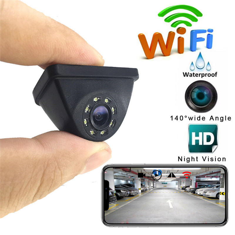 HD WiFi Wireless Car Rear View Cam Backup Reverse font b Camera b font Night Vision