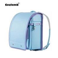 Кулоновского Детские рюкзаки для девочек школьные сумки для детей ортопедический рюкзак женский портфель Высокое качество японских Pu любо