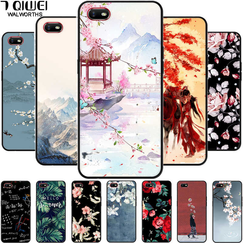 For Oppo A1k Case Cph1923 Black Silicone Soft Printed Phone Cases For Oppo Realme C2 Case Rmx1941 A1 K A 1k Realmec2 C 2 Cover Aliexpress