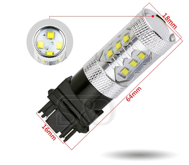 1156 BA15S светодиодный автомобильный лампочка 12 SMD R10W светодиодный чипы чистый белый светильник Авто p21w R5W светильник сигнала поворота автомобильный светильник источник парковки 12В D030