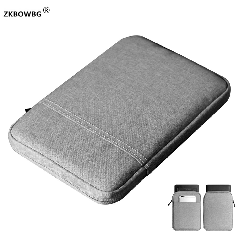Sleeve Pouch Zipper Bag Case for Pocketbook Touch HD <font><b>631</b></font> Ereader For Tolino Page/Shine/Vision 3 HD/Vision <font><b>2</b></font> 6 inch E-book Cover image
