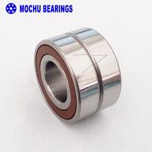 1 זוג MOCHU 7005 H7005C 2RZ P4 DB 25x47x12 25x47x24 אטום מסבים קשר זוויתי מהירות ציר מסבים CNC ABEC 7