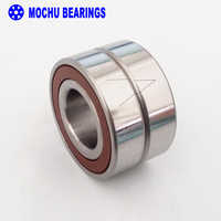 1 par MOCHU 7005 H7005C 2RZ P4 DB 25x47x12 25x47x24 sellado rodamientos de contacto Angular rodamientos de husillo de velocidad CNC ABEC-7