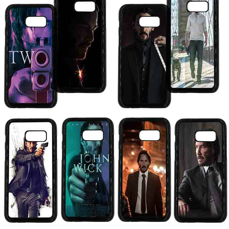 For Samsung Galaxy A3 A5 A7 A8 2015 2016 2017 2018 Note 8 5 3 2 Shell John Wick Keanu Reeves Phone Cases Hard PC Plastic Cover ...